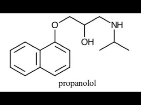 RX43.  Propanolol