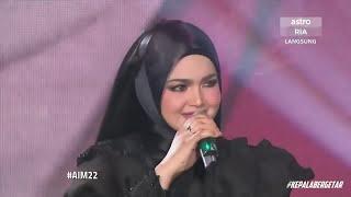 Dato Siti dan Faizal Tahir, Dirgahayu Live AIM22 (HD)