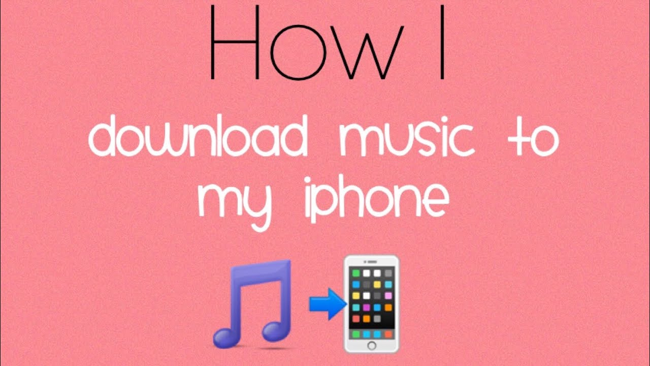 how to put my music on my iphone
