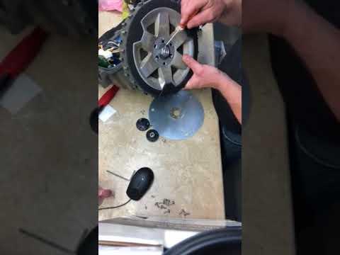 Husqvarna automower wheel motor removal
