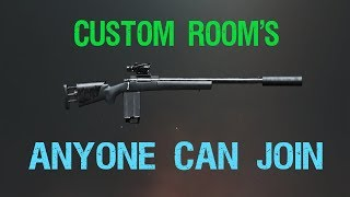 PUBG Mobile CUSTOM ROOMS BACK2BACK join Discord