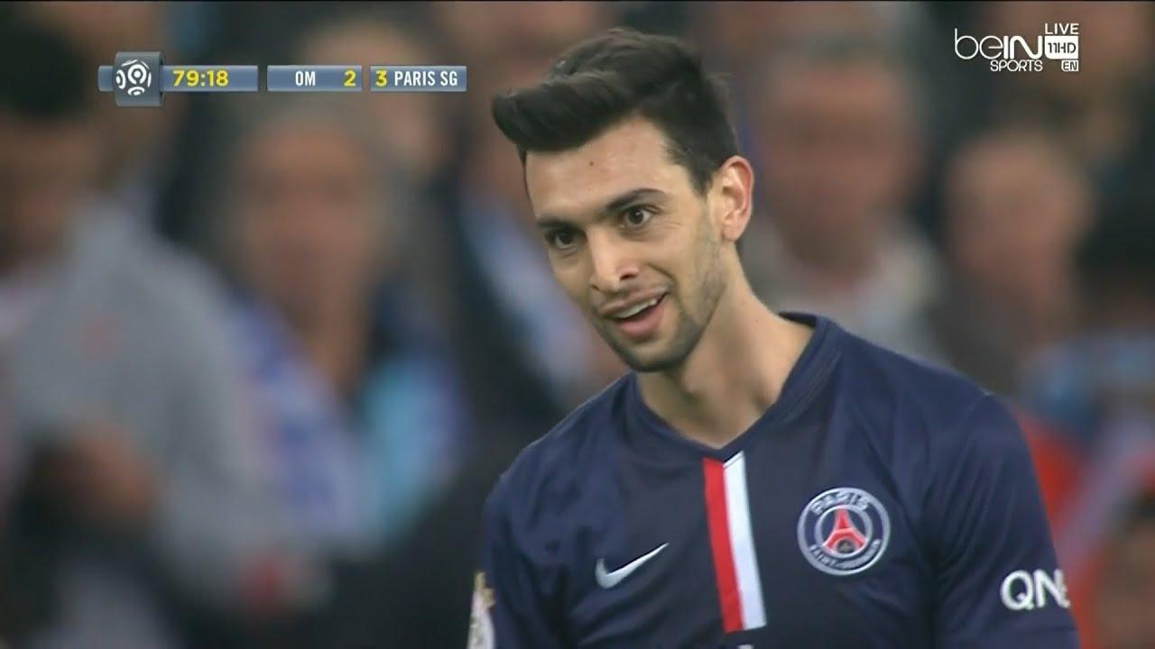 Javier Pastore vs Olympique Marseille A 14 15