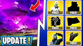 *NEW* Fortnite 10.20 Update! | Collect 13 Free Items, Kevin Returns, All Skins!