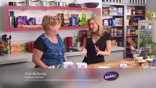 Cadbury Cherry Ripe Slice - Cadbury Kitchen on Everyday Gourmet