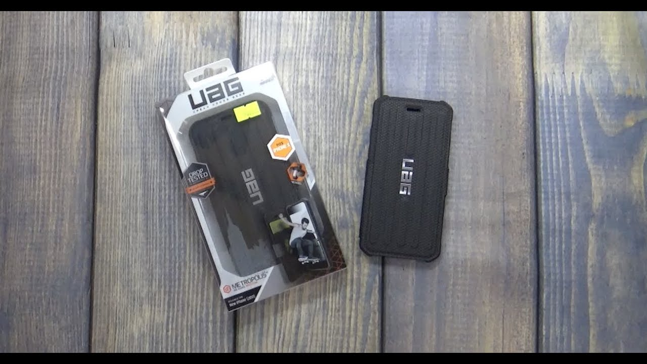 sports shoes 7984c 95ebc iPhone X UAG Metropolis Case Unboxing and Thoughts.