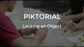 Piktorial: How to unlock an object