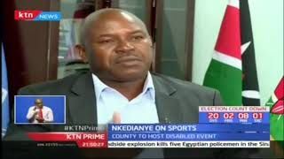 Kajiado County partners with NONDO to launch a sporting event for the disabled