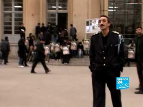 Iran: Visiting the campus of Teheran University