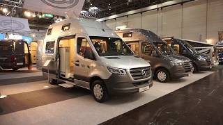 Six metre Mercedes campervan with rear bathroom