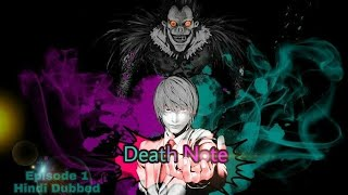 Death note episode 1 Hindi Dubbed