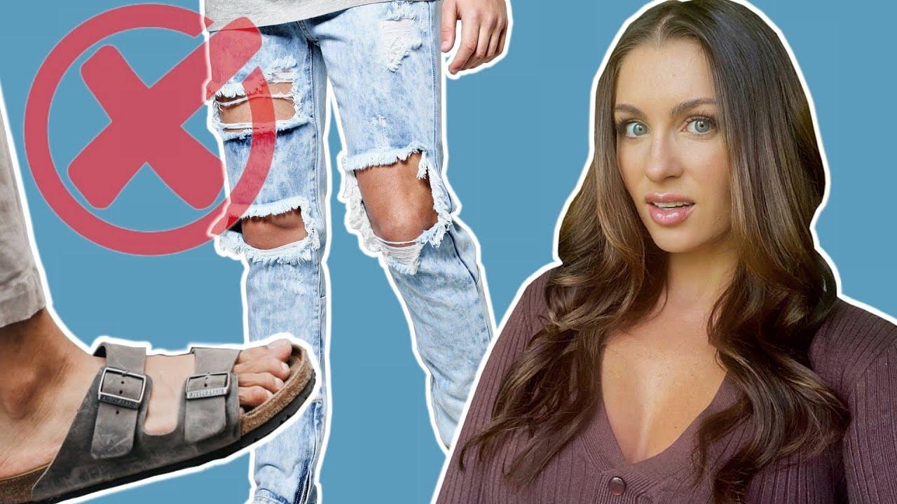 9 Of The WORST Fashion Trends That Women Find UNATTRACTIVE | Courtney Ryan