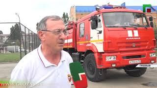 В МЧС чествовали призеров всероссийских соревнований по пожарно-спасательному спорту