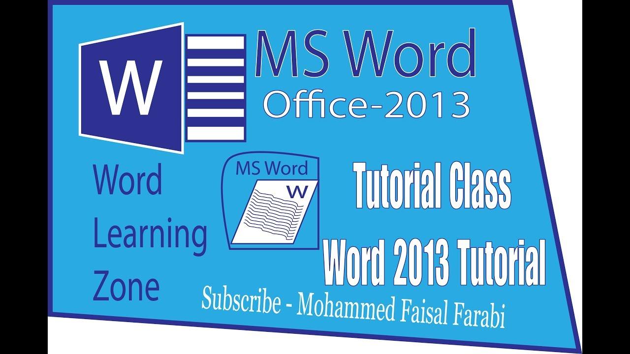 Microsoft word 2013 tutorial ms office word 2003 07 bangla microsoft word 2013 tutorial ms office word 2003 07 bangla tutorial word to design part 03 baditri Images