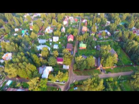 Удельная Раменский район С высоты птичьего полёта