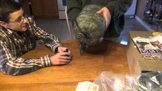 Red Rock Woodland Ghillie Suit Unboxing