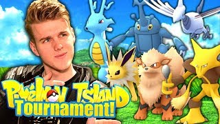 THE GEN 2 TOURNAMENT! (Minecraft Pokemon) Pixelmon Island #16