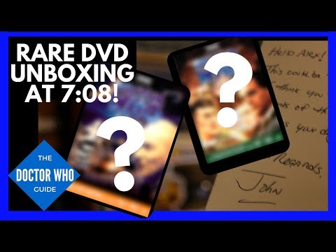 Doctor Who Package Unboxing! - John Fischer Nearly Completes my DVD Collection!