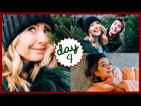 WE BOUGHT TWO CHRISTMAS TREES! | VLOGMAS