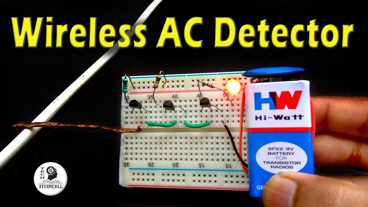 Non Contact AC Line And Neutral Detector / Non Contact