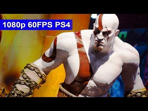 God Of War 3 Remastered Gameplay [1080p HD 60FPS] - First 60 Minutes