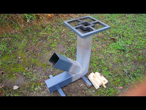 Genius ideas - How To Make Rocket Stove DIY Tutorial