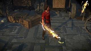 Path of Exile: Innocence Weapon Effect