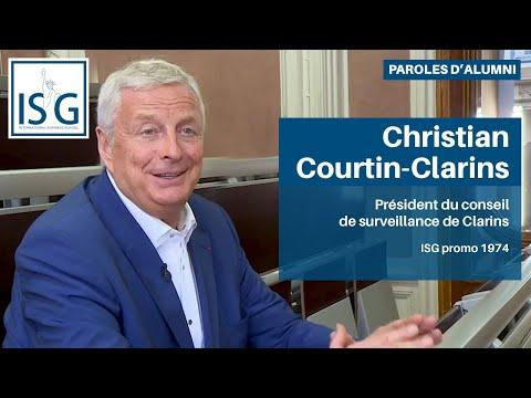 Paroles de diplômé - Christian Courtin-Clarins (ISG promo 1974)