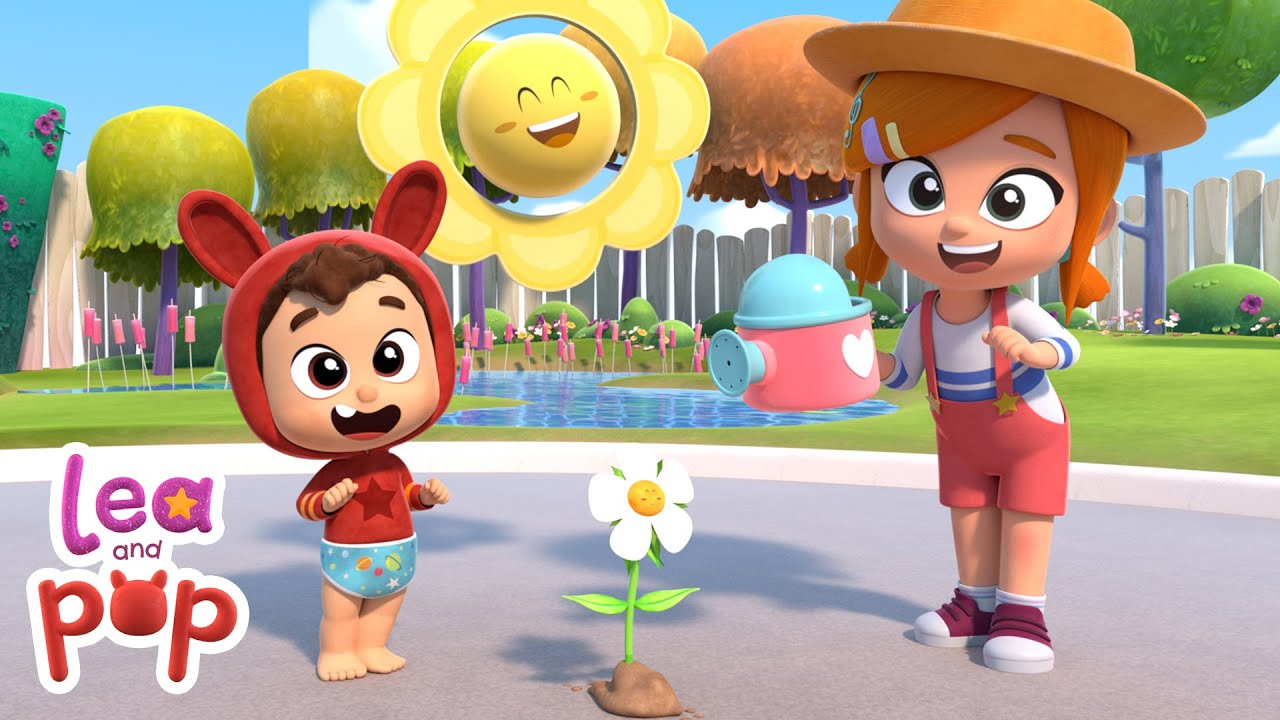 A Flower In My Garden - Lea and Pop Nursery Rhymes and Children's Songs