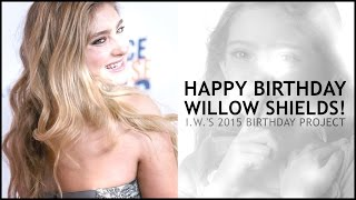 Happy 15th Birthday, Willow Shields! (I.W. Birthday Project)