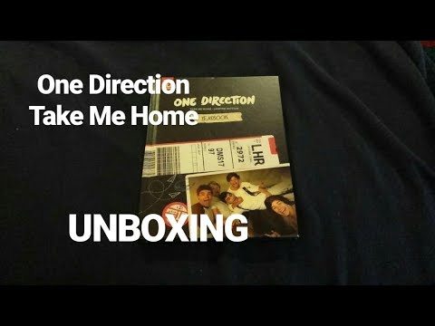 ONE DIRECTION TAKE ME HOME (LIMITED YEARBOOK EDITION)   UNBOXING