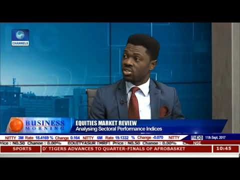 Equities Market Review With Eronmosele Aziba Pt 2 | Business Morning |