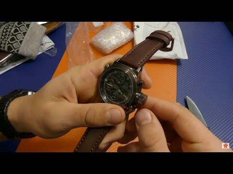 Огромные наручные часы
