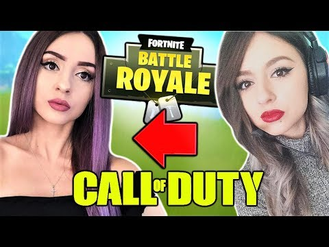 SHE SINGS on Fortnite AND Call Of Duty !