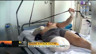 "Shark attack survivor: ""No Time for Fear"""