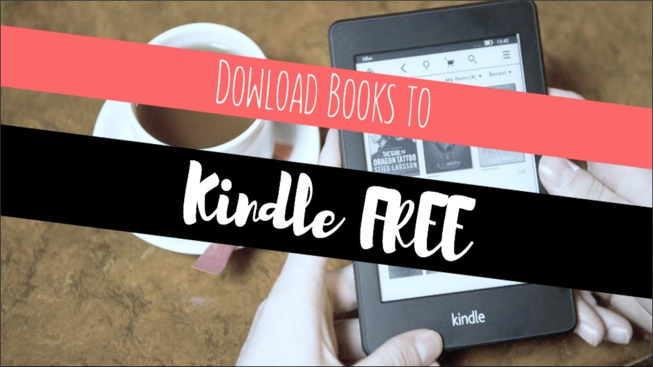 how to download free books to kindle