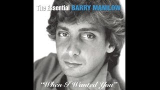 When I Wanted You (w/lyrics)  ~  Barry Manilow
