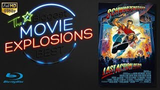 The Best Movie Explosions: Last action hero (1993)House Explodes [HD Bluray Clip]