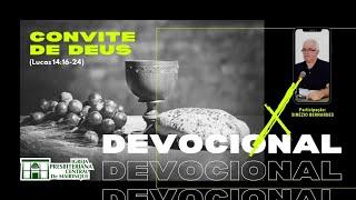 Devocional | CONVITE DE DEUS | 17/11/2020