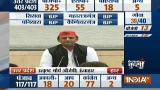 Maybe the people didnt like Express Way and voted for Bulltet Train: Akhilesh Yadav