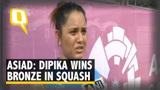 Asian Games: Dipika Pallikal Settles For a Bronze   The Quint