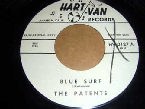 Blue Surf by The Patents tab