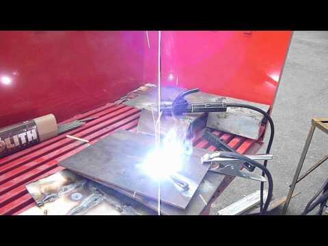видео: Сварка БЕЗ РУК,инвертором stark rl,электрод Монолит 3мм