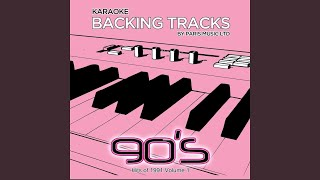 When You Tell Me That You Love Me (Originally Performed By Diana Ross) (Karaoke Backing Track)