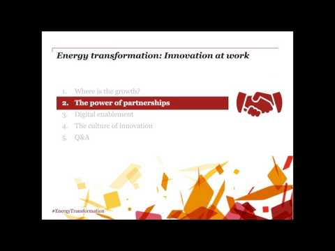 Energy transformation: Innovation at work (Episode 1)
