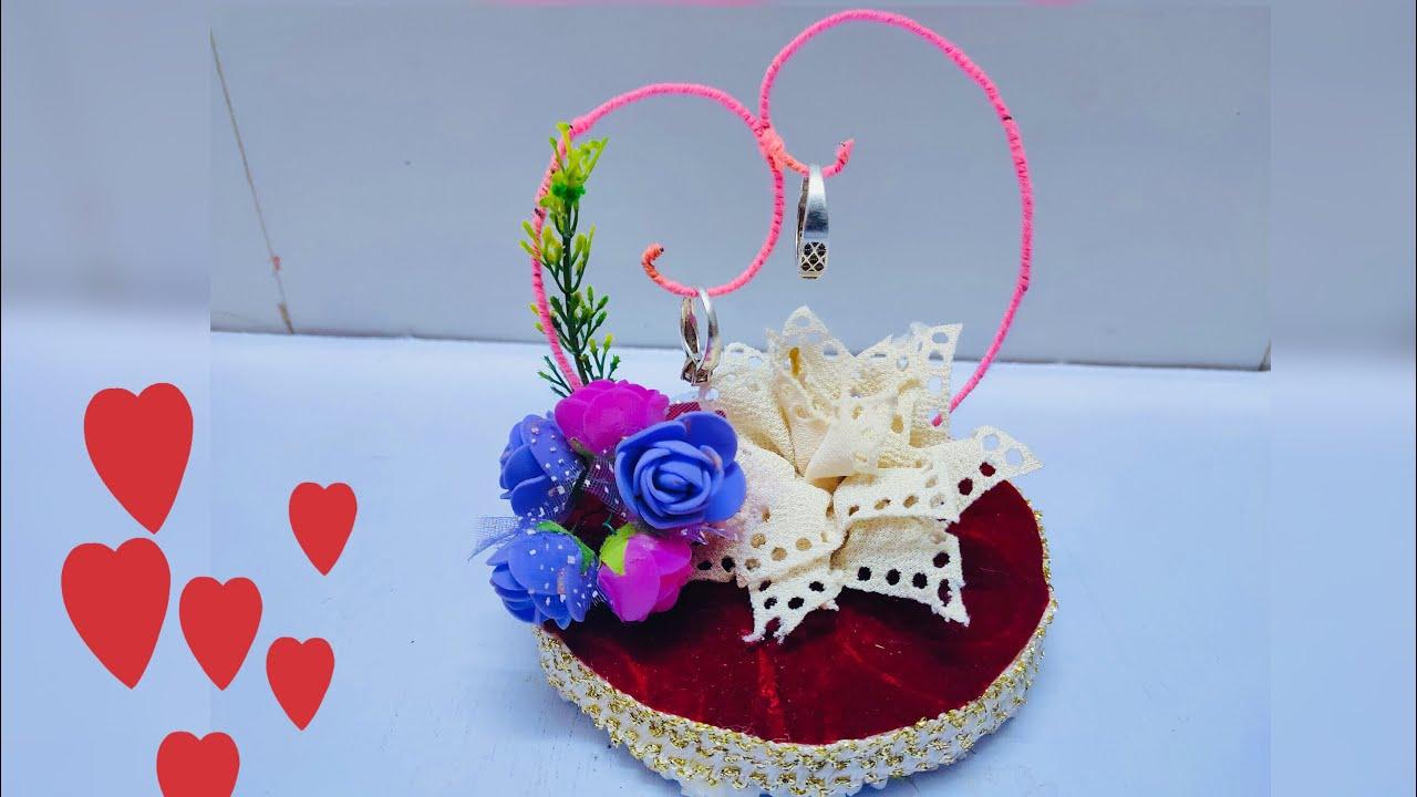 النبيل قابل للتغيير مميز Wedding Ring Holder Analogdevelopment Com