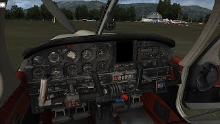 [FSX:SE] JustFlight Piper PA-28R Arrow III v. 1.0 - First test - From West Wind to Port Orcas
