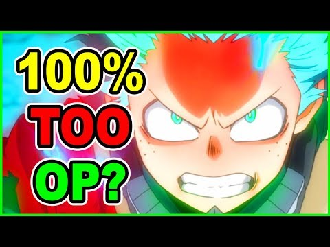 Is Deku TOO Overpowered? Deku 100% Infinite Cowl | My Hero Academia Season 4