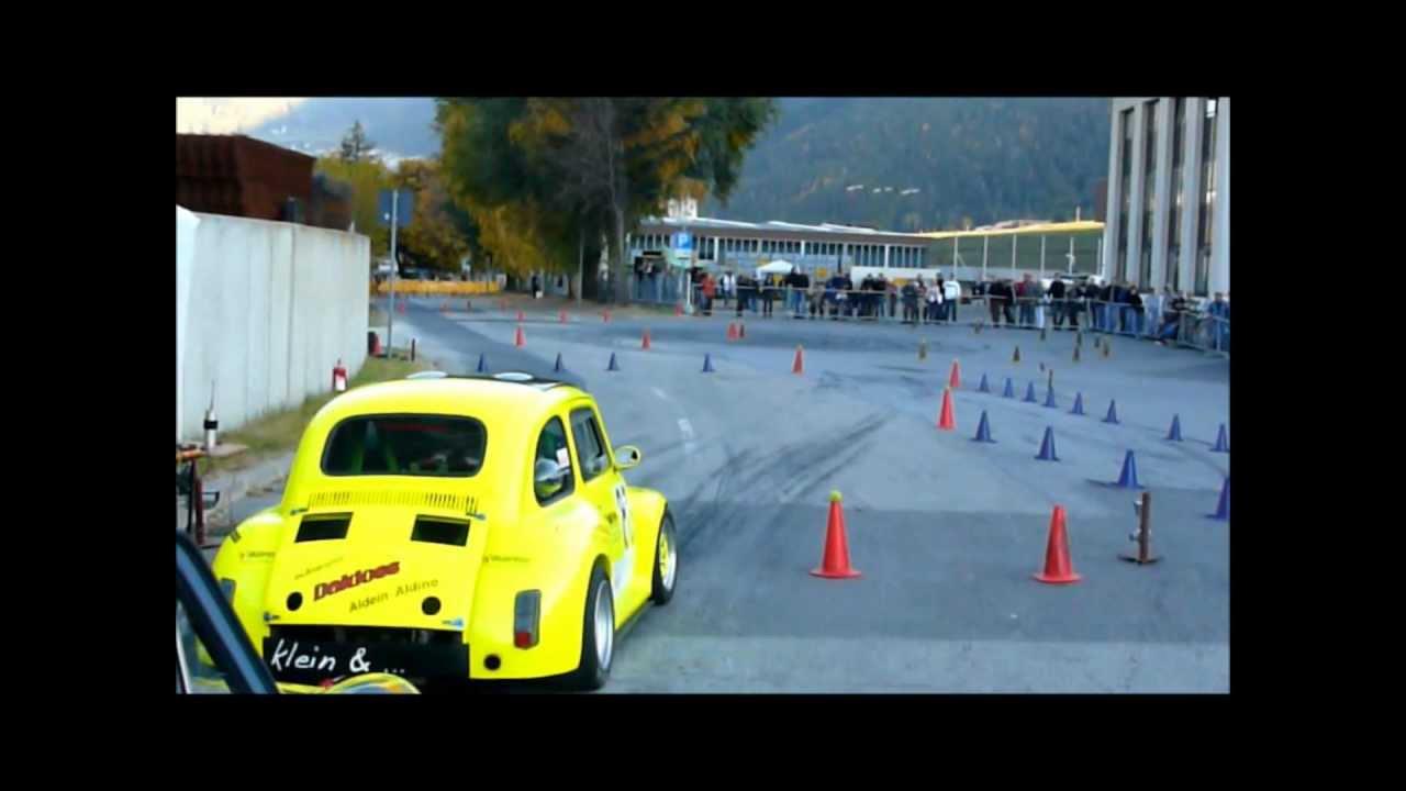 Fiat 500 Kawasaki Motor Vs Fiat 500 Original Abarth Race