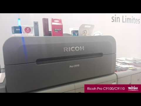 Expo Gráfica 2017 Ricoh Pro C9100