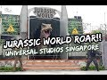 PlacesAndFoods Youtube Channel in Jurassic World ROAR! Show Universal Studios Singapore Video on substuber.com